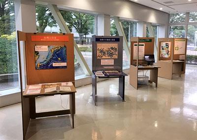 モバイルミュージアムの展示風景