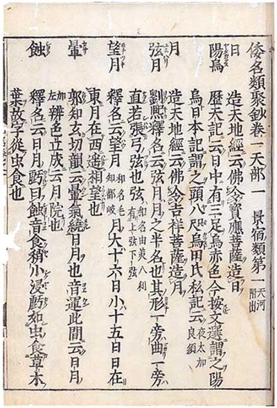 『倭名類聚抄』寛文十一年板