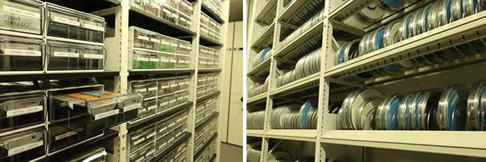 カセットテープとオープンリール