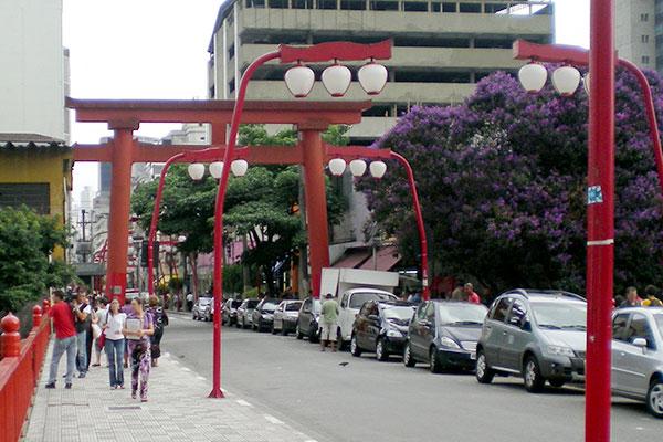 ブラジル・サンパウロの東洋人街リベルダージ地区