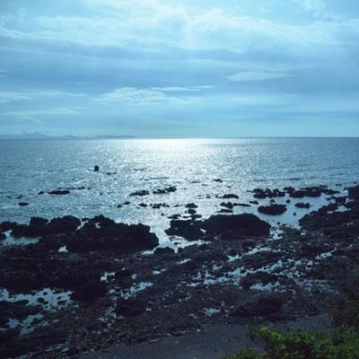 東シナ海に浮かぶ甑島