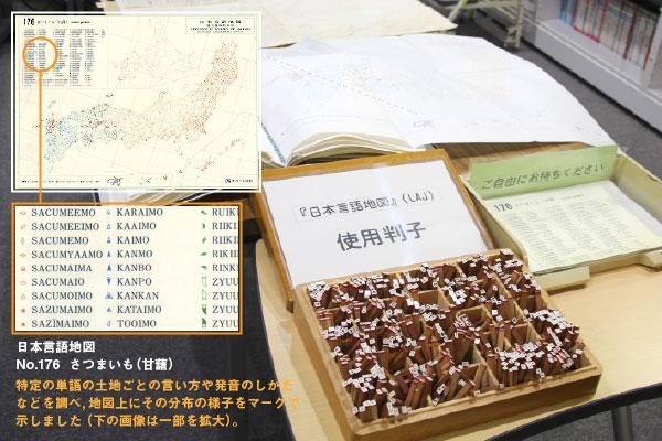 日本言語地図と使用した写真